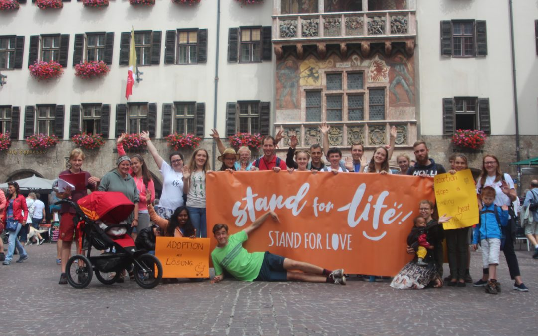 Tag 12: Pro Life Tour in Innsbruck