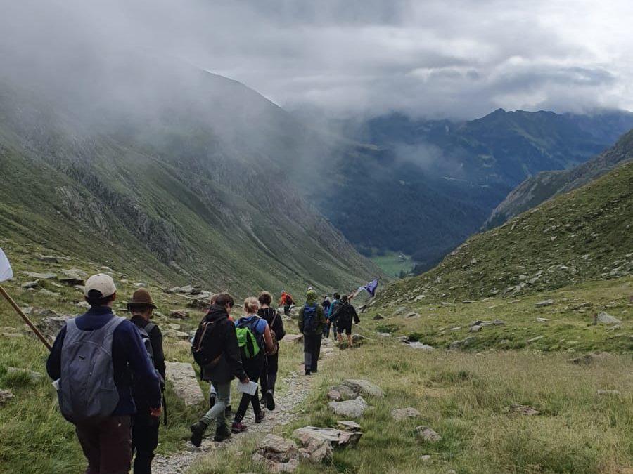 Tag 18: Bella Italia oder frierend über die Alpen