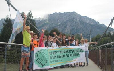 Tag 2: Die ersten Schritte Richtung Klagenfurt!